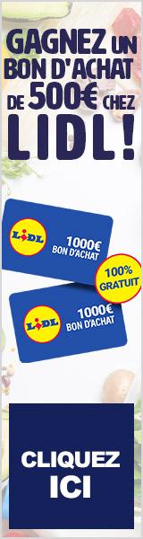 Gagner 1000 euros chez lidl