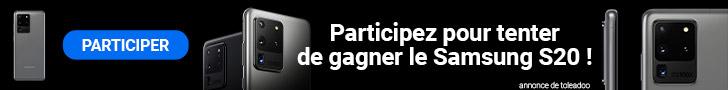 Gagner 1 samsung S20